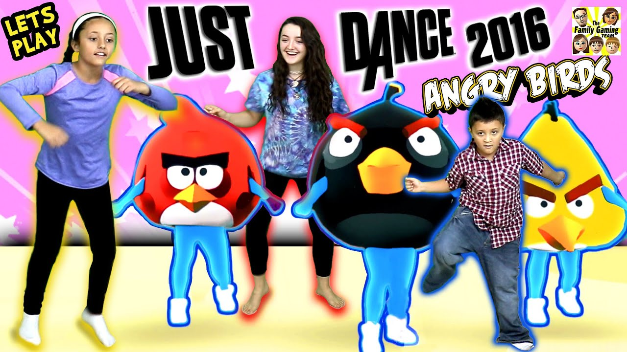 FGTEEV Kids plays Just Dance 2016! ANGRY BIRDS + CHIWAWA Songs ...