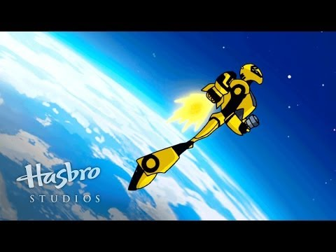 Transformers: Animated - A Falling Bumblebee