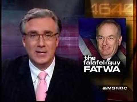 Keith Olbermann obliterates Bill O