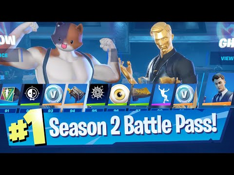 Fortnite Chapter 2 Season 2 - Battle Pass + NEW Lobby!