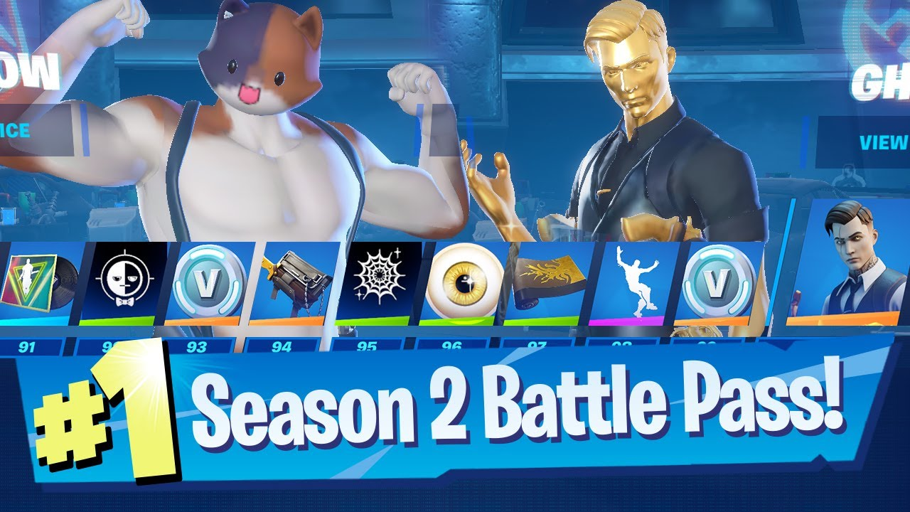 Download Fortnite Chapter 2 Season 2 - Battle Pass + NEW Lobby!