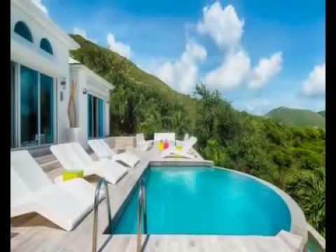Villa turquoze Saint Martin luxury season rental