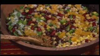 Ginny Mccormack's Fiesta Food -  Fabulous Peach And Bean Salsa