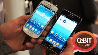 Samsung Galaxy S2 Plus vs. S3 mini