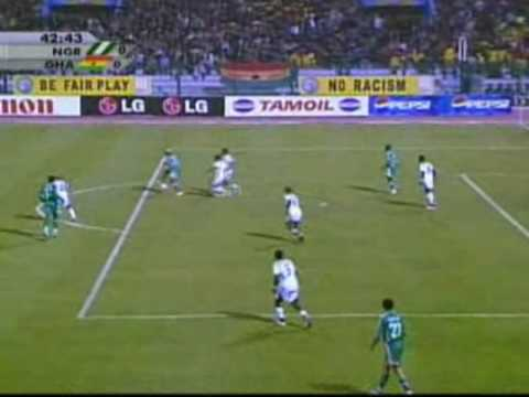 Nigeria vs Ghana - Africa Cup of Nations, Egypt 2006