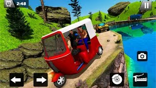 Tuk Tuk Driver Offroad Drive Transport Passenger Android play screenshot 3