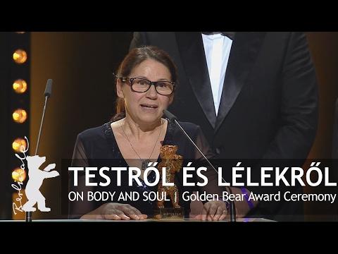 Testről és lélekről   Golden Bear Award Ceremony   Berlinale 2017