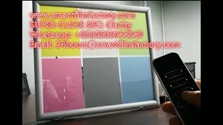Repeat youtube video Electrochromic Car Window Film