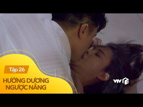 Xem phim Những nụ hôn rực rỡ - Hướng Dương Ngược Nắng tập 26 (phần 2) | Mượn rượu làm càn, Hoàng cưỡng hôn Minh ngấu nghiến