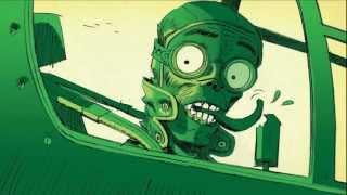 Gorillaz - Rhinestone Eyes (Dubstep Remix) (Official Video Storyboard) [HD 1080p]