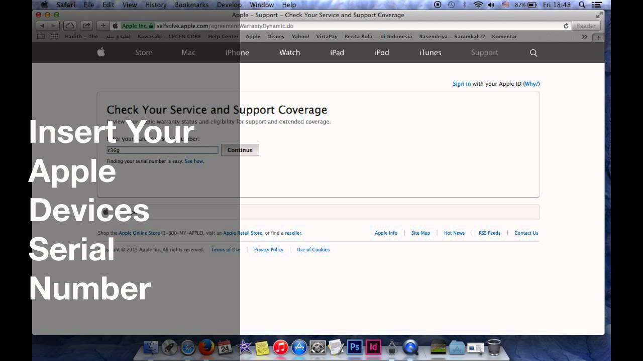 How to check Iphone, iMac, Macbook, iWatch Or Any Apple Devices Warranty