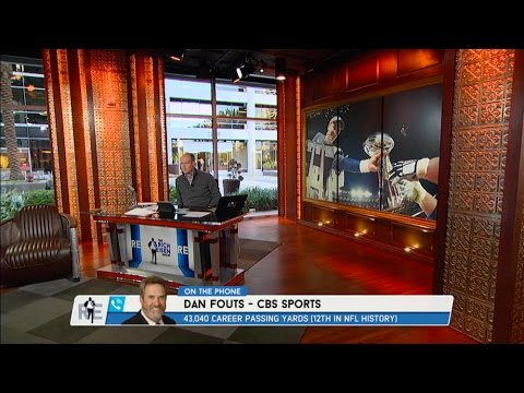 CBS Sports NFL Analyst Dan Fouts on Pro Football Hall of Fame, Super Bowl 50 & More - 2/8/16