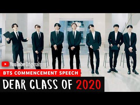 BTS Commencement Speech | Dear Class Of 2020