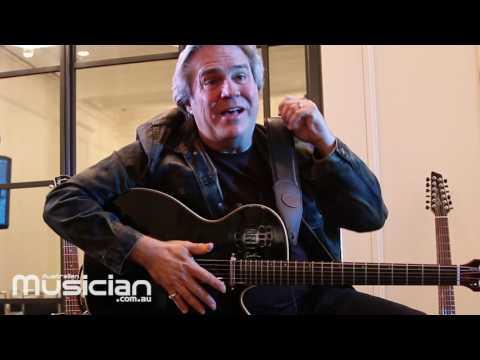 DOYLE DYKES: Australian Godin Guitars tour interview