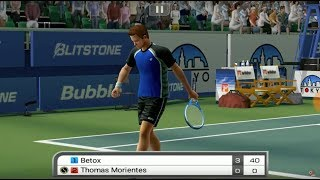Virtua Tennis Challenge Android Game Play, Set #1