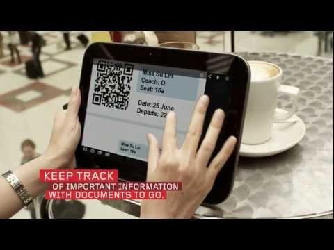 Be Adventurous: Lenovo IdeaPad K1 Tablet