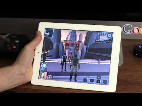Star Wars: Knights of the Old Republic iPad Gameplay