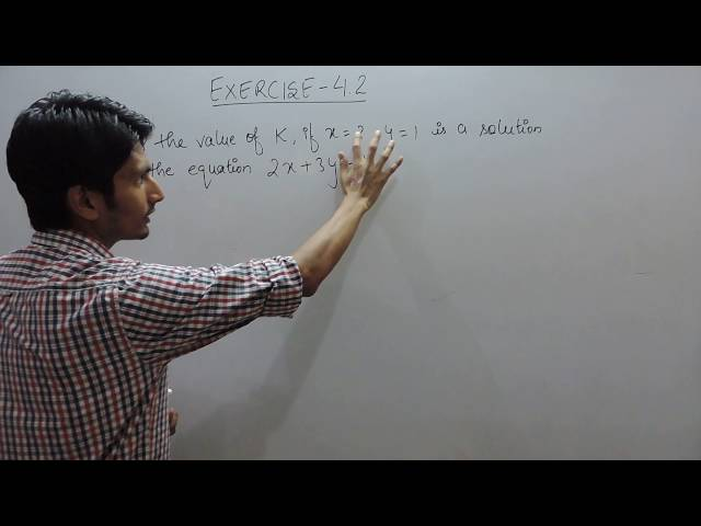 chapter 4 Exercise 4.2 q 4 - Linear Equations in Two Variables class 9 maths ncert solutions