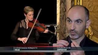 Violon et fumée au Printemps des Arts de Monte-Carlo