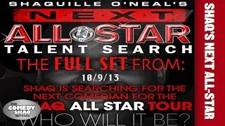 shaquille o neal s next all star comedy tour  full set  from 10 9 13