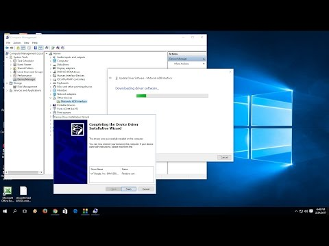 How To Install Android Phone Driver In Windows PC (Driver For All Phone ADB Installer)