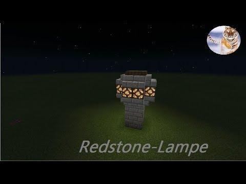 In Minecraft Pocket Edition Ein Redstone Lampe Selber Bauen