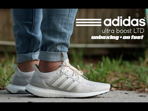 differently 678af 661c8 Adidas Ultra Boost LTD Chalk Unboxing + On Feet - YouTube