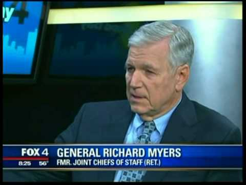 General Richard B. Myers  Fox 4 News Interview