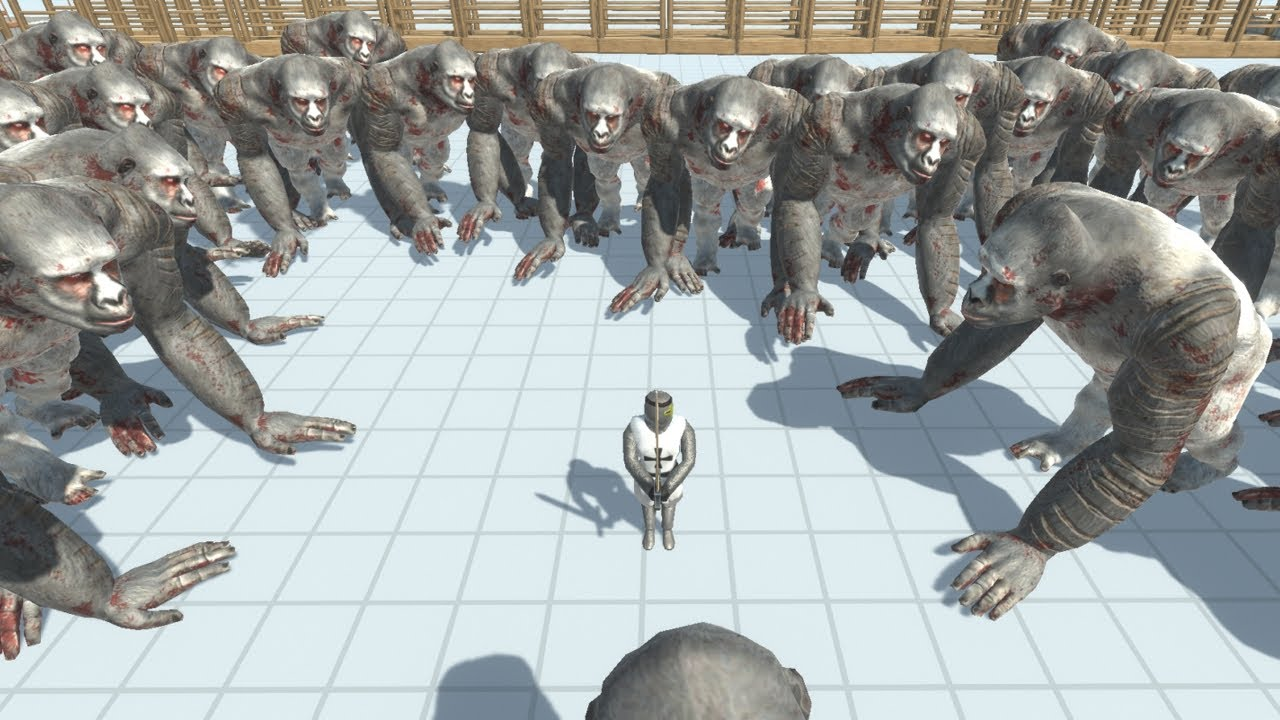 Circle of 50 GORO THE GIANT Animal Revolt Battle Simulator