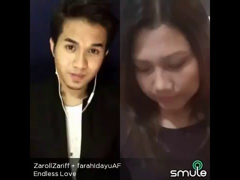 Endless Love By Luther Vandross & Mariah Carey - Zaroll Zariff & Idayu AF3