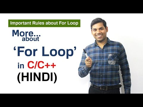 More About For Loop In C,C++ With Examples