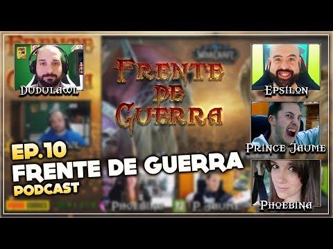 Frente de Guerra Podcast Ep. 10 - Novedades Tour de Prensa | Programa en directo resubido