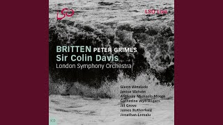"""Peter Grimes, Act I: """"Past time to close!"""""""
