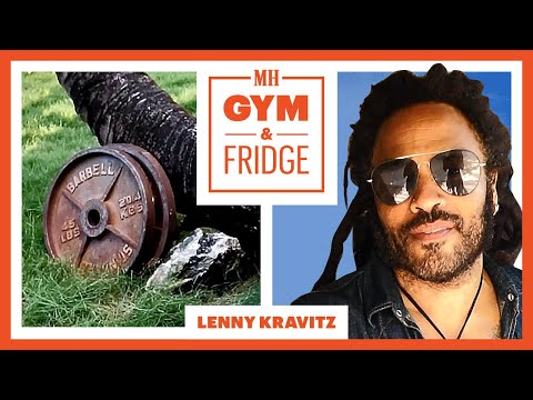 Lenny Kravitz Shows His Gym & Fridge   Gym & Fridge   Men's Health