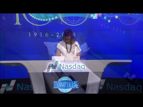 SMPTE Rings the Closing Bell at Nasdaq 22 July 2016
