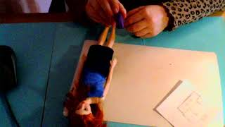 Швейная машинка из полимерной глины