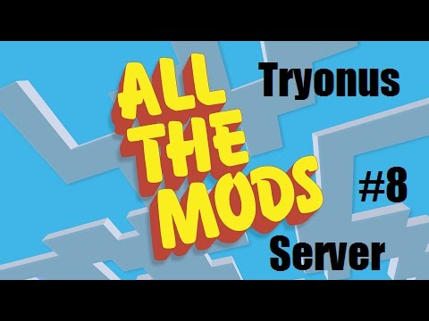 All The Mods Server : Ep#8 : Making Hydrogen and a JetPack!