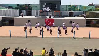 梅光学院大学よさこいダンス部 LUCIS さのよいファイヤーカーニバル 2018.07.15(日)