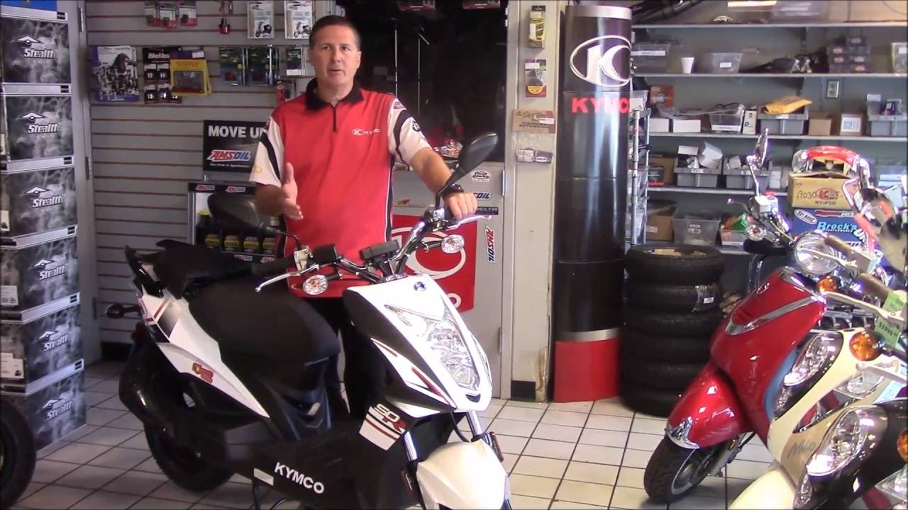 2016 Kymco Super 8 50r 50x Scooter Review