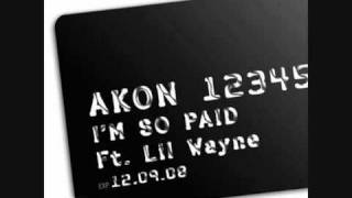 Akon ft Lil Wayne I'm So Paid NEW 2008 SINGLE  made by Morad  Chiri