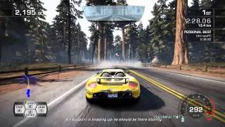 Need for Speed Hot Pursuit - Hotting up in Porsche Carrera GT