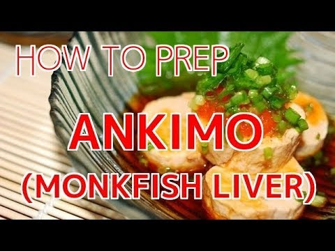 How To Prep Monkfish Liver (Ankimo)【Sushi Chef Eye View】