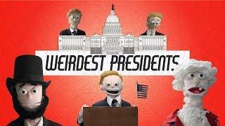 Who Were America's Weirdest Presidents? | Future Puppet News #6