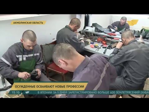 В Акмолинской области осужденные осваивают новые профессии