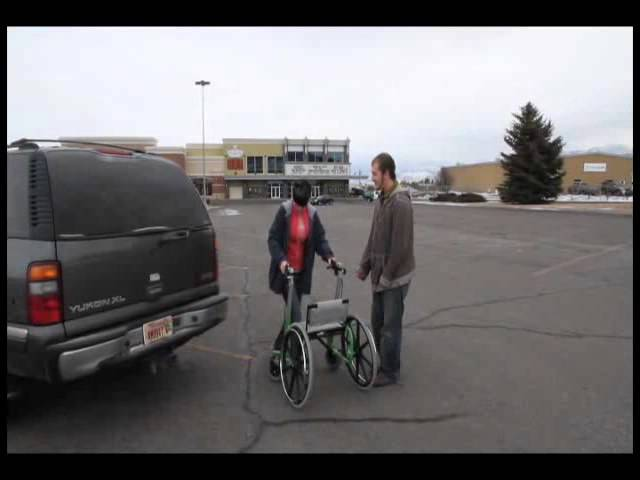 Walker Wheelchair Combination & The Mall (Walk'n'Chair)