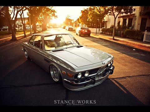 a walk in the park the stanceworks bmw e9 2800cs youtube