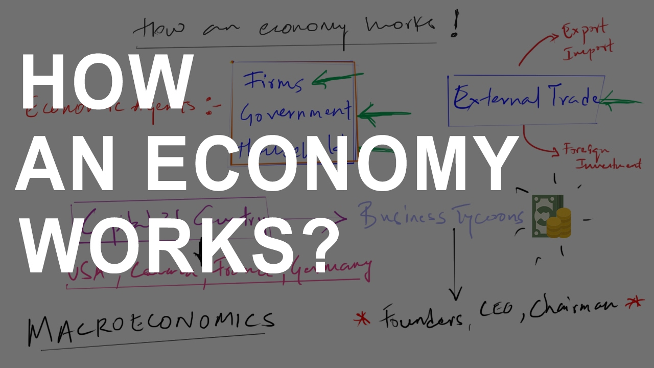Class 12 economics circular flow of income how an economy works class 12 economics circular flow of income how an economy works macroeconomics youtube ccuart Choice Image