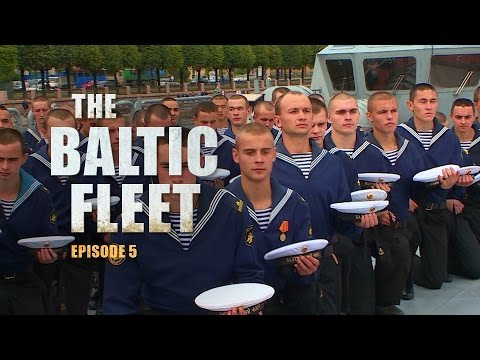 The Baltic Fleet (E05): A tour around the 'Soobrazitelny' warship and a military parade.