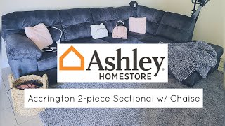 Ashley's Furniture | Accrington 2-piece Sectional with Chaise Review