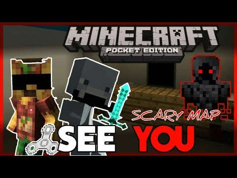 MCPE Horror map 'See You' w/ Twisted Dolphins ||⚠ WARNING NOT SCARY⚠